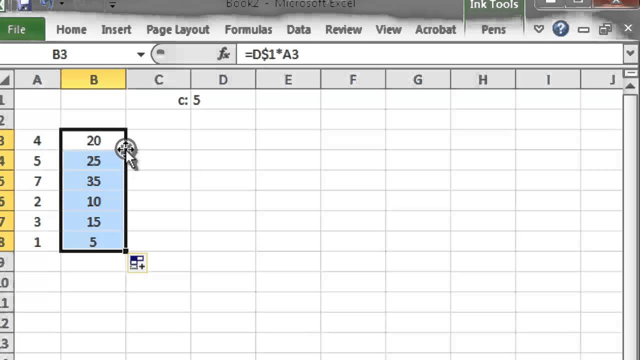Summation and Excel