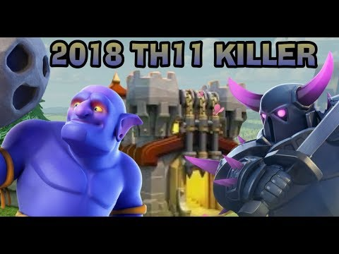 2018 TH11 KILLER CLASH OF CLANS POST WINTER UPDATE