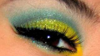 Bright Colorful Makeup for the Rainy Day Blues Tutorial Thumbnail
