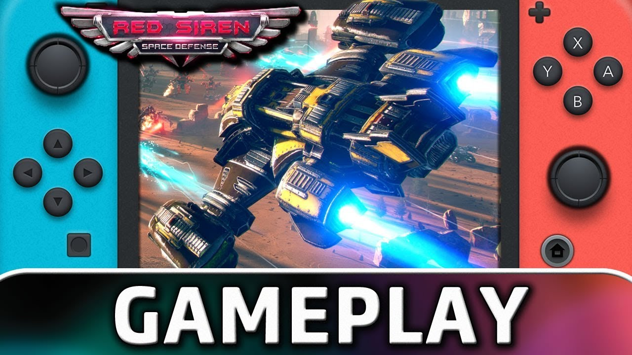 Red Siren: Space Defense | First 10 Minutes on Nintendo Switch