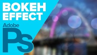 Create a BOKEH Effect in Photoshop! | IceflowStudios