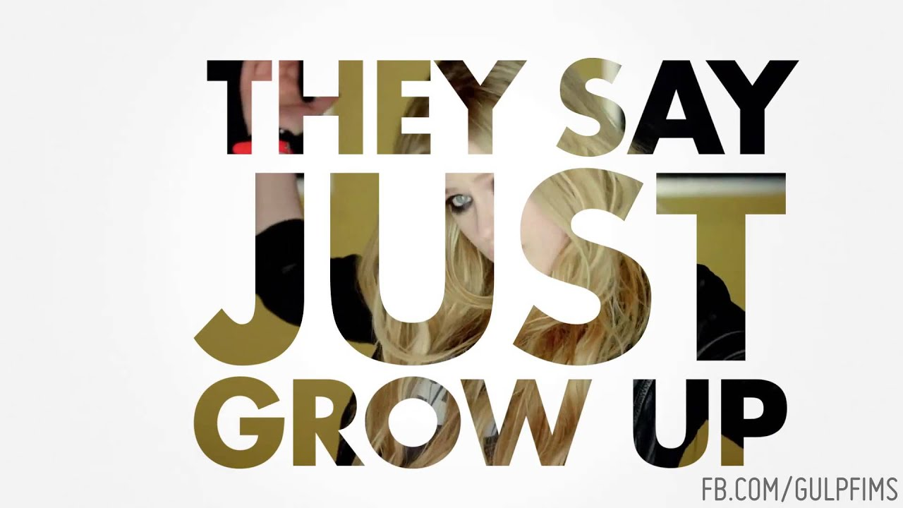 Avril Lavigne - Here's To Never Growing Up Lyric Video ...