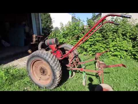 Vegetable Farming With Old School Two Wheel Tractors - David Bradley, Simplicity