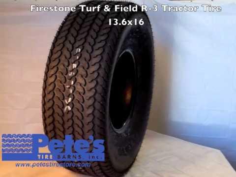 Firestone Turf & Field R-3 Tractor Tire 13.6x16