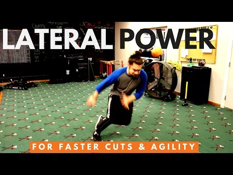 Lateral Power Plyometrics For Faster Cuts & Agility