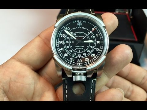 CT Scuderia Dashboard series Swiss automatic racing watch review CS10212