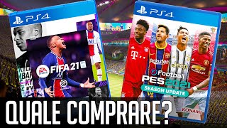 FIFA 21 VS PES 2021: Quale Comprare?
