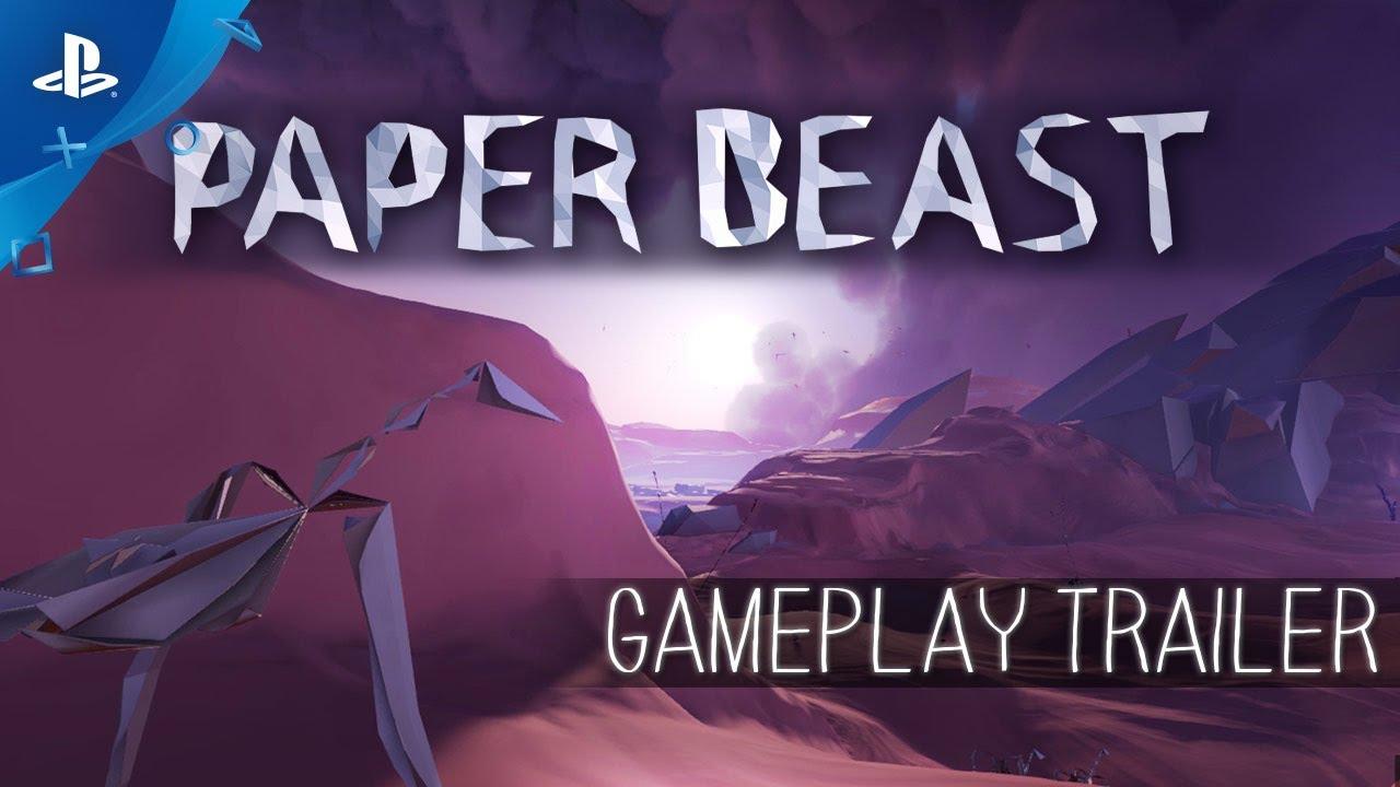 Paper Beast – Tráiler de gameplay | PlayStation