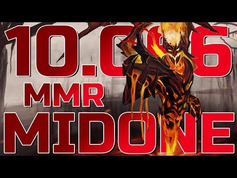MidOne 10.066 Highest MMR Ever in Dota 2 History - World Record!