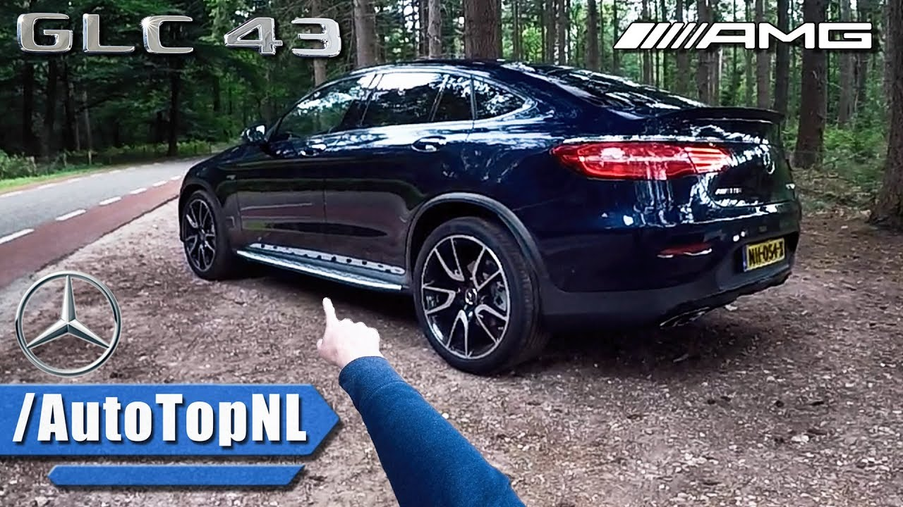 Mercedes Glc 43 Amg Coupe Review Pov Test Drive By Autotopnl Youtube
