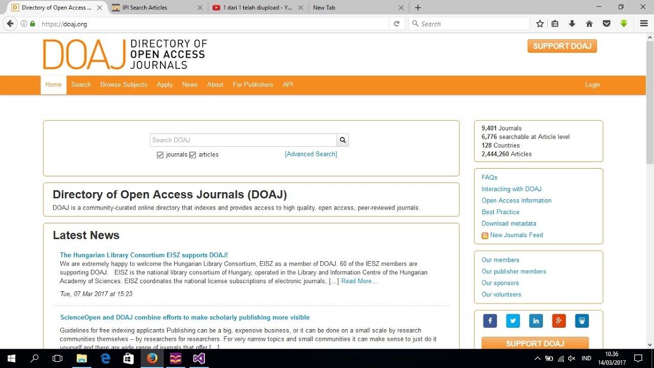 10 Cara Download Jurnal Gratis Mahasiswa Pejuang Skripsi Wajib Tahu