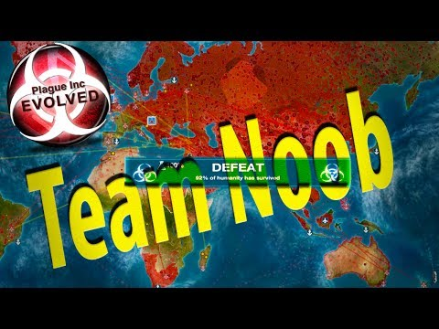 ►Team Noob, No Need For Quarantine [Co-Op] | Plague Inc: Evolved