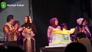 Afgan meriahkan HUT ke-40 Rita Widyasari