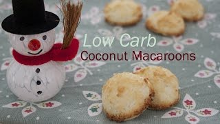 Recipe: Low Carb Coconut Macaroons With Stevia (without Sugar) [recipe Diary]