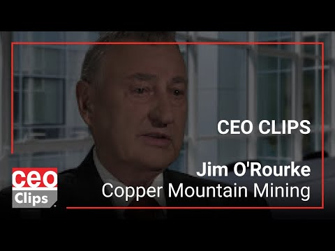 A Strategic Alliance for 100% of Copper Concentrate - Copper Mountain Mining