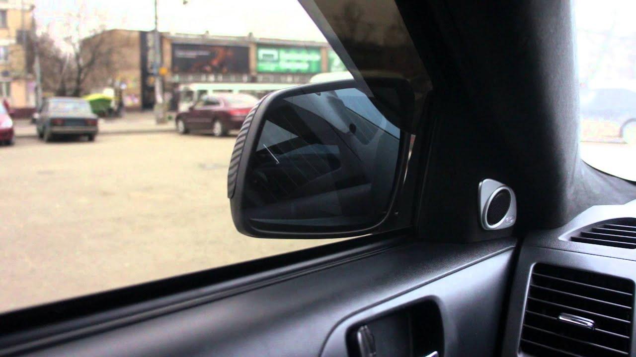 подключить авто зеркала складывающиеся схема