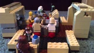 Mos Eisley Cantina Lego Star Wars Custom MOC