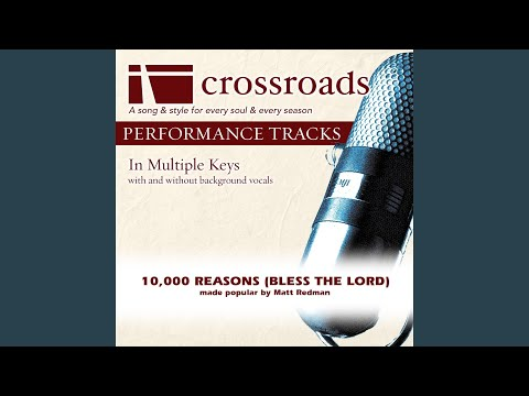 10,000 Reasons (Bless The Lord) (Performance Track without Background Vocals in E)