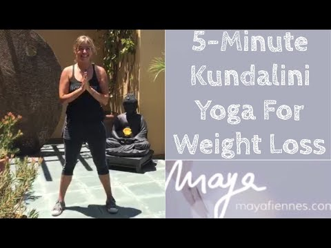5-minute Kundalini Yoga for Weight Loss with Maya Fiennes
