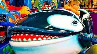 Парк аттракционов Хэпилон Развлечения для детей HAPPYLON НАСТЮШИК Видео для детей КОРАБЛЬ ЛАБИРИНТ