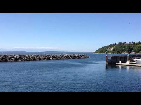 Cruising out of Elliot Bay Marina