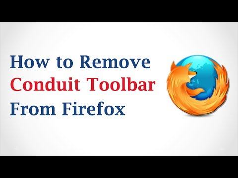 How to Remove Conduit Toolbar from Mozilla Firefox