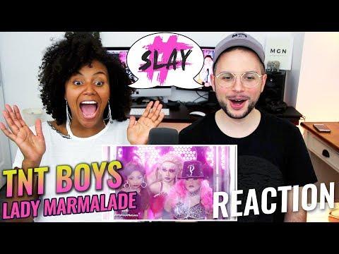 TNT Boys  Lady Marmalade  Your Face Sounds Familiar Kids 18  REACTION