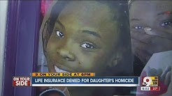 Life insurance company denies claim for 18-year-old fatally shot