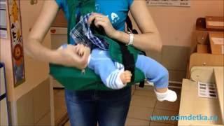 слинг / рюкзак-кенгуру BABY style Masya Dzhins обзор