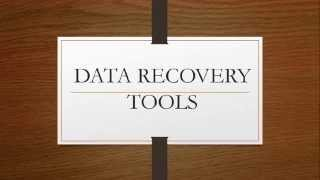 Free Data Recovery Softwares