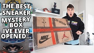 The Best Sneaker Mystery Box Ive Ever Unboxed.. ($12,000)