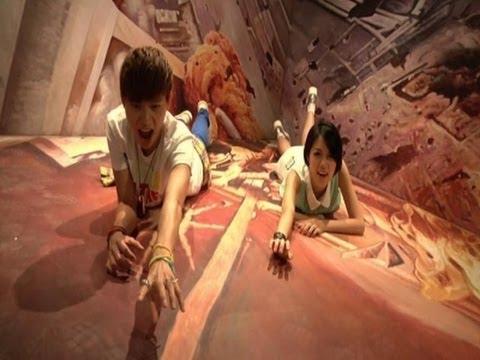 Hong Kong 3D Museum Displays Trick Art
