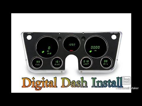 Intellitronics Digital Dash Install - 1967-72 Chevy C10 / K10