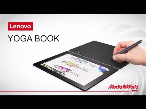 Lenovo Yoga Book con penna e tavoletta grafica - YouTube