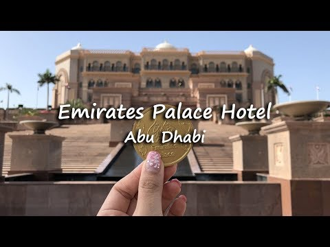 Emirates Palace Hotel Tour | Abu Dhabi, UAE