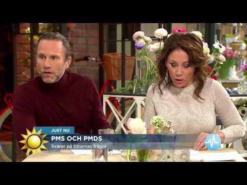Tittarfrågor om PMS och PMDS - Nyhetsmorgon (TV4)