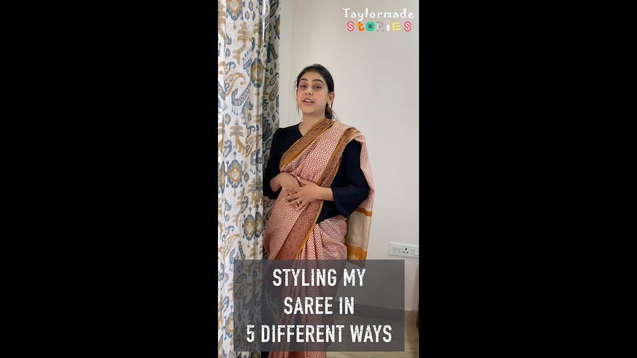 Styling a Saree 😍❤️ | Desi Girl |