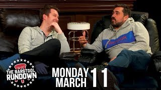 Big Cat Challenges Jose Canseco to Rough n Rowdy - March 11, 2019 - Barstool Rundown