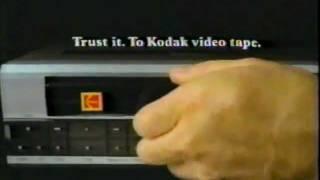 1984 Kodak VHS Tape Commercial