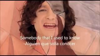 Gotye - Somebody that i used to know Subtitulado en espanol e ingles