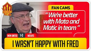 OLE TRUSTING MATA! Manchester United 1-0 Wolves Fan Cam
