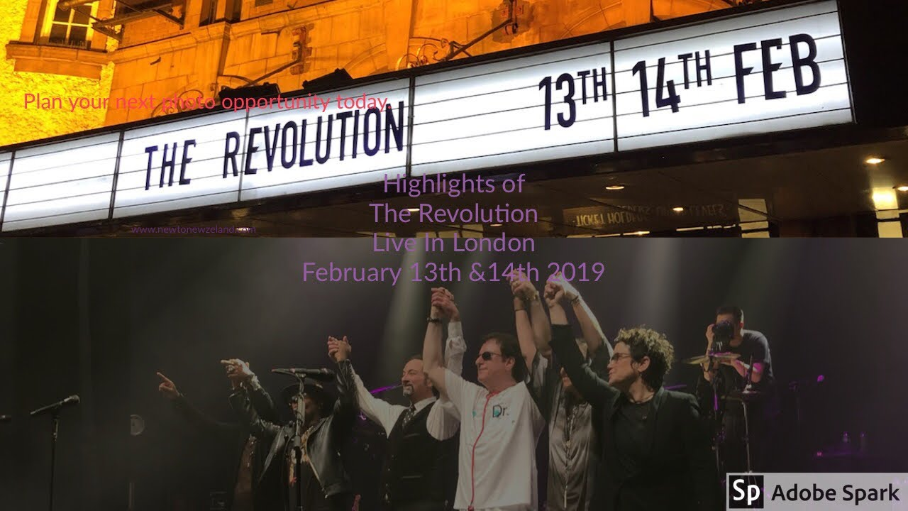 Download The Revolution Live in London February 13th & 14th 2019