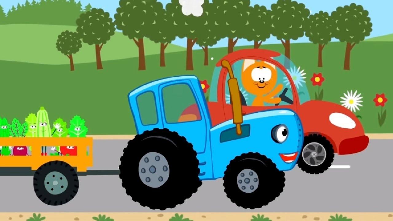 Мультфильм про машинки – Котенок и волшебный гараж –все ...