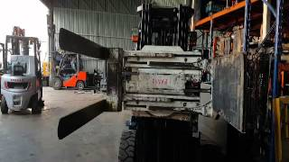 Forklift Clamp & Rotator Fork I Beng Siang machinery