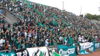 2013.11.03 J2第39節 横浜FC 1 - 3 松本山雅FC@三ツ沢 今日も一つにな...