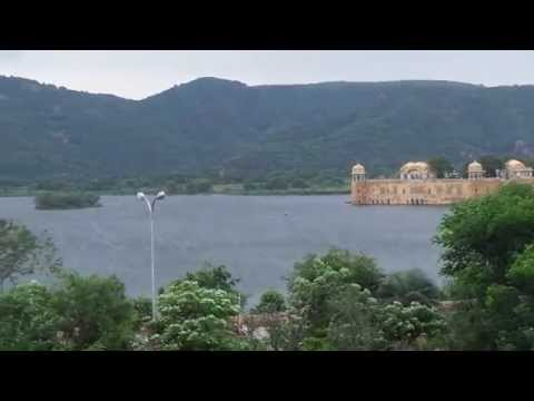 Morning View of Jal Mahal Jaipur from my Trident Hotel Room 20140811 071626