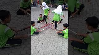 Permainan Tradisional Rangku Alu Sdit Ibnu Sina Nunukan Youtube