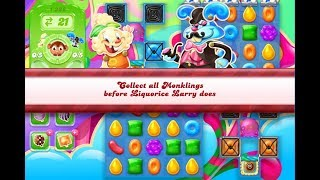 Candy Crush Jelly Saga Level 1228 (3 stars, No boosters)