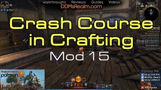 Neverwinter - Crash Course in Crafting - Mod 15