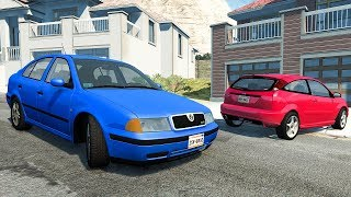 Low Speed Car Crashes #5 - BeamNG DRIVE | SmashChan